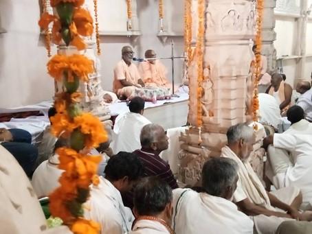 Srila Gurudeva en Vrindavana