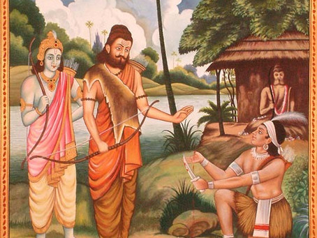 Ekalavya y Arjuna