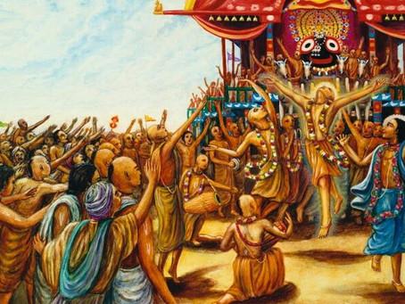 El Señor Gauranga en Puri