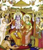 Sri Rama y el perro