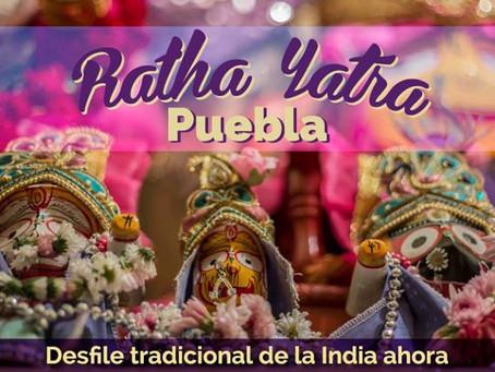 Ratha Yatra en Puebla 2018