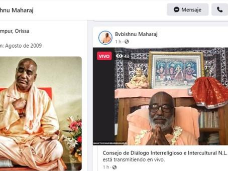 Bagavath Dharma en Zoom