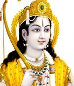 La aparición del Señor Ramachandra