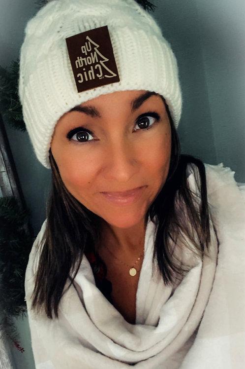 """""""UpNorth Chic"""" Winter White/Cream Hat"""