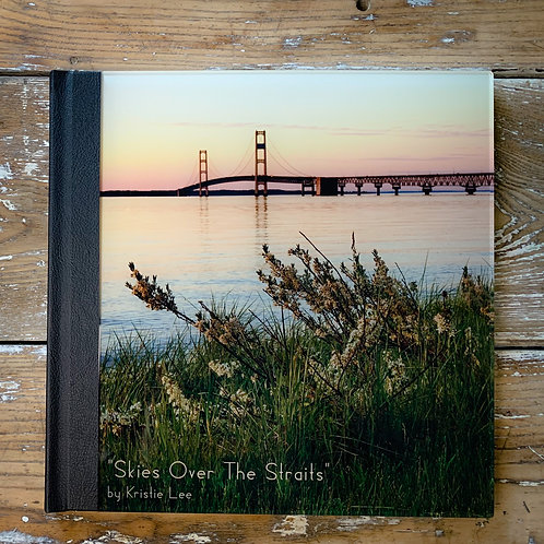 """Skies Over The Straits"" Coffee Table Hardcover Book by Kristie Lee Photography"