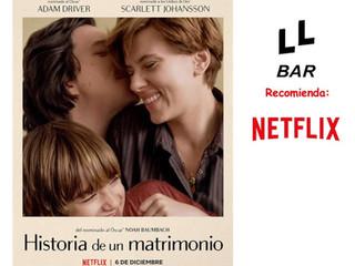 ✨✨ LL BAR RECOMIENDA ✨✨ - HISTORIA DE UN MATRIMONIO -