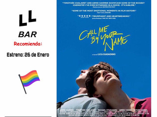 ✨✨ LLBAR RECOMIENDA... ✨✨ CALL ME BY YOUR NAME