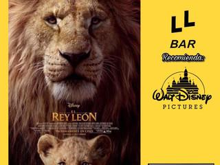 ✨✨ LL BAR RECOMIENDA ✨✨ - EL REY LEÓN (2019) -