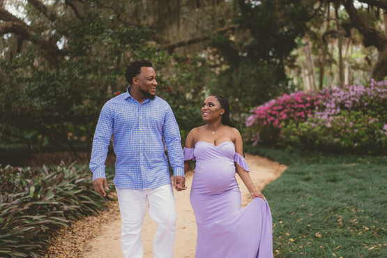 Qua'Nise & Montory Maternity | Washington Oaks