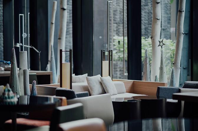 Espace détente restaurant