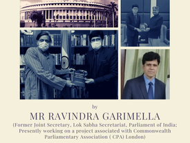 """[INTERVIEW] Mr Ravindra Garimella on his new book: """"Parliament of India: Diverse Dimensions"""""""