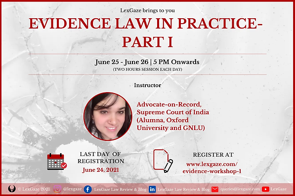Workshop on Evidence Law in Practice (Pa