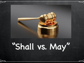 """""""May"""" to be read as """"Shall"""": Dissecting legislative intent"""