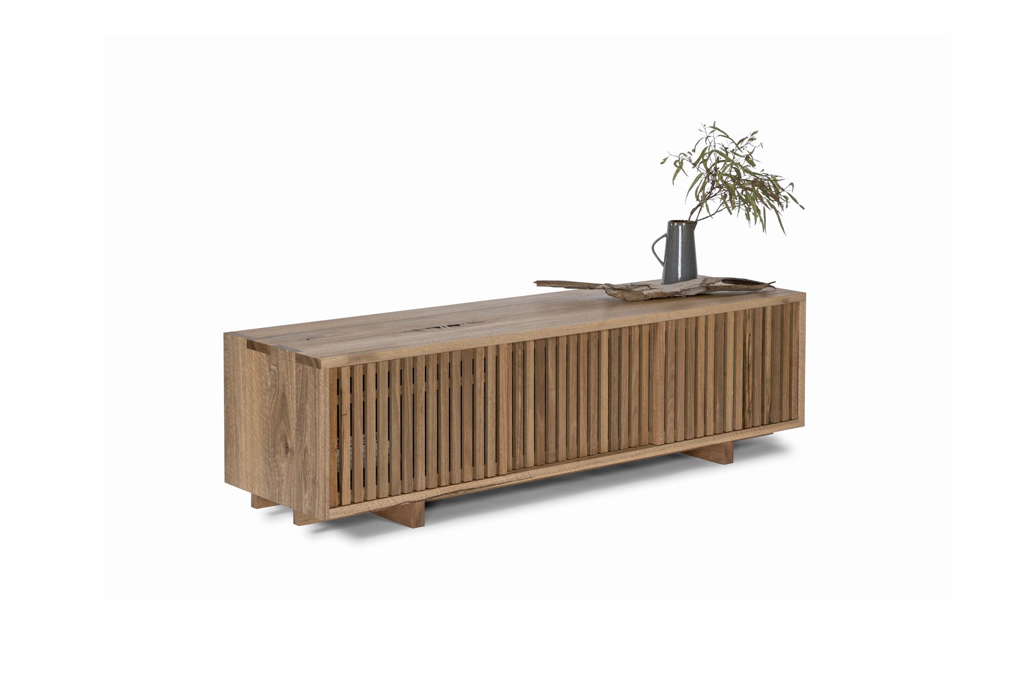 Sudare Cabinet by Sawdust Bureau 01