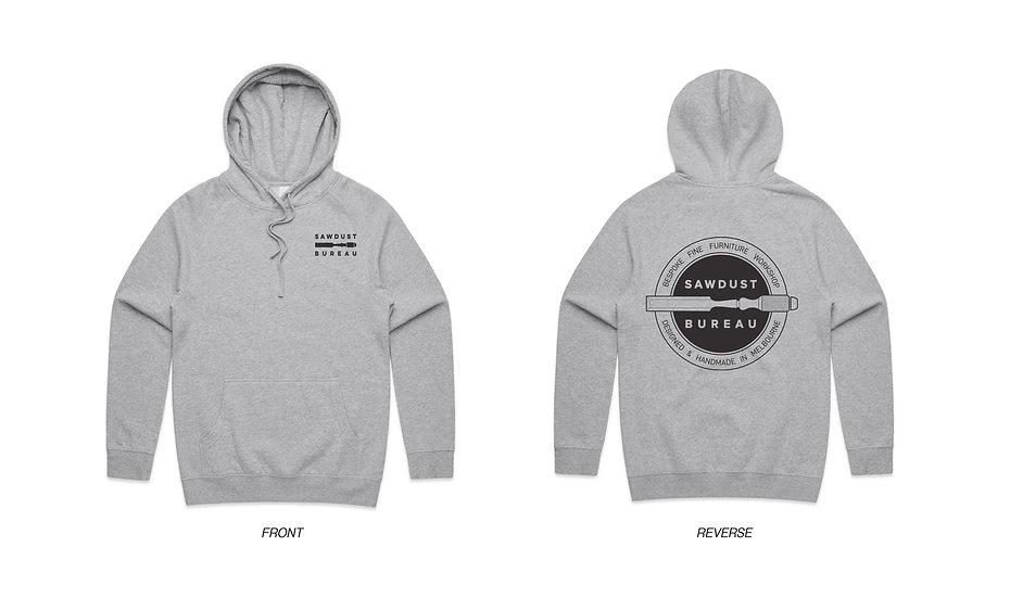 Sawdust Bureau Hoodie - Grey