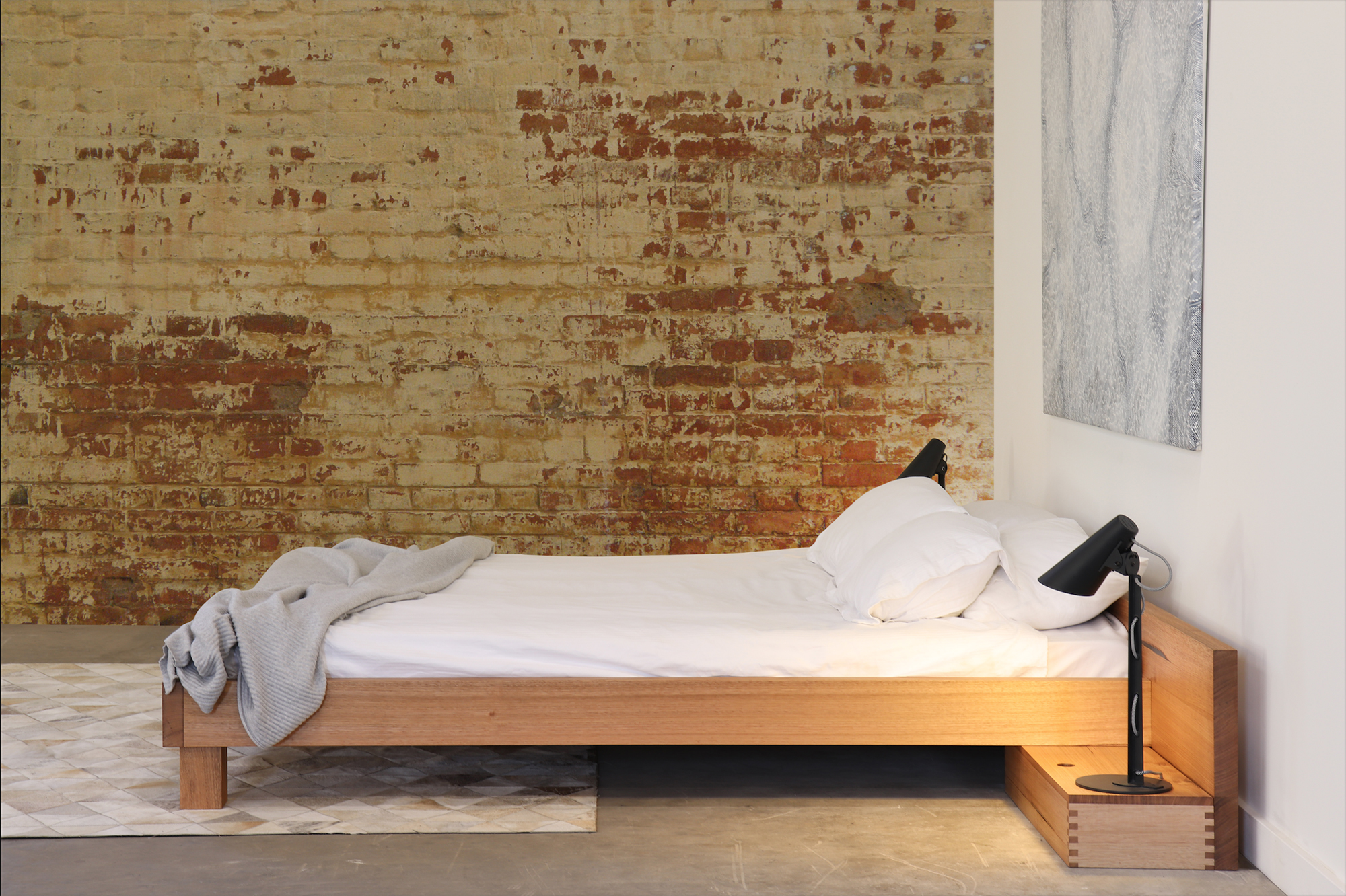INEMURI BED by Sawdust Bureau 01