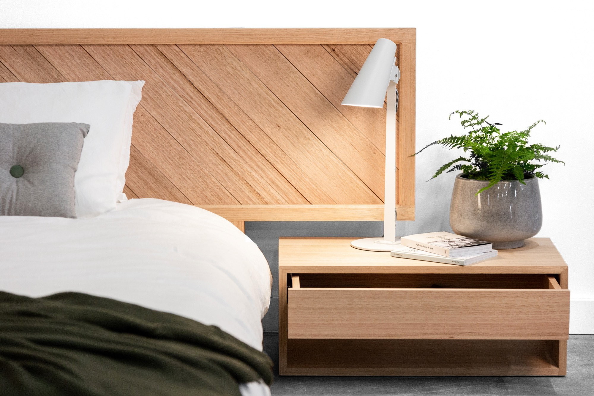 Chevron Bed 05 by Sawdust Bureau