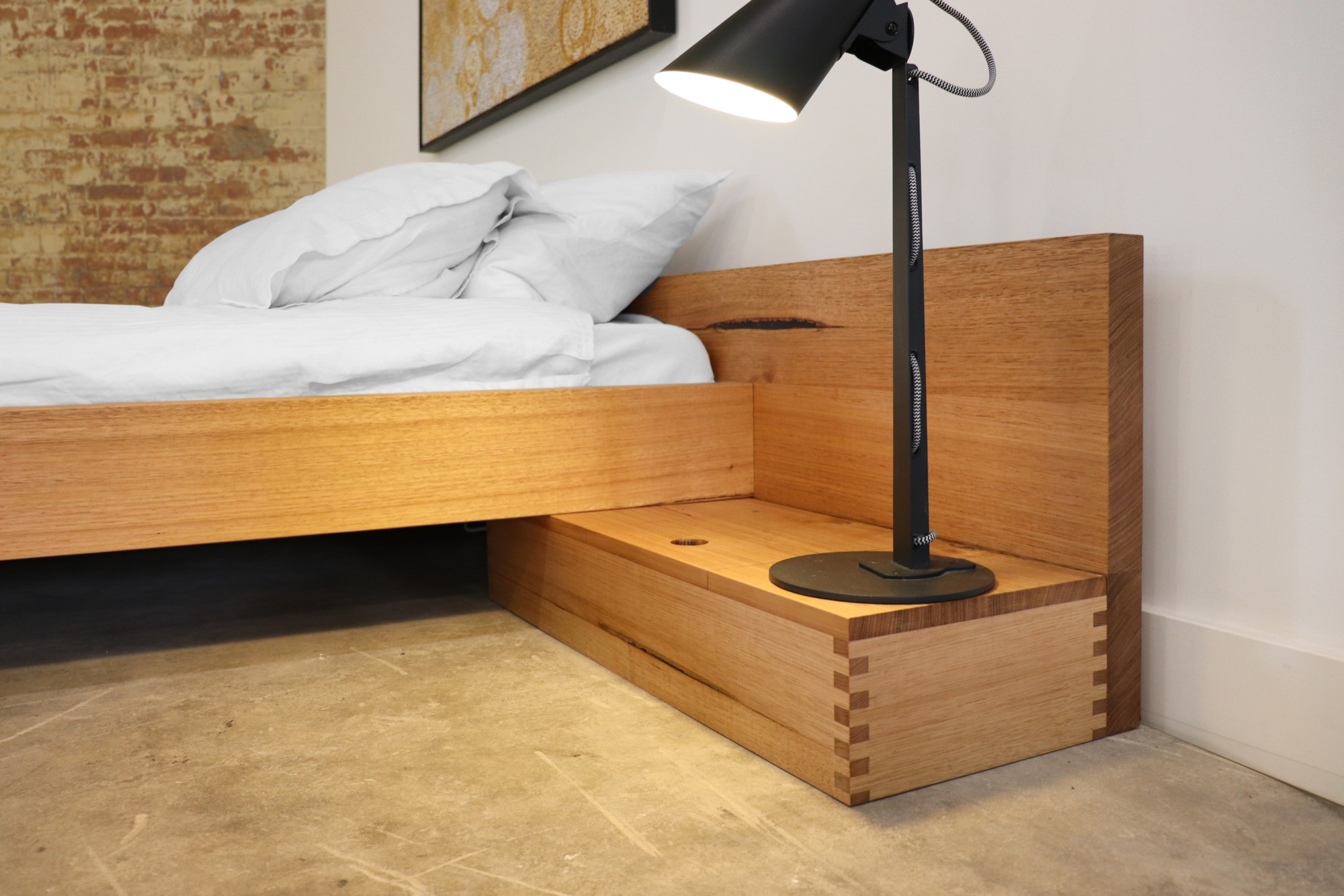 Benches long end without table modern ashley bed included on size
