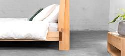 Chevron Bed 0996 wide by Sawdust Bureau