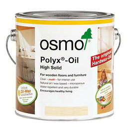Osmo Poly X oil - internal furniture oil Sawdust Bureau