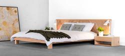 Chevron Bed 01 by Sawdust Bureau