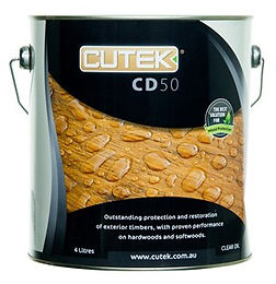 Cutek CD50 Extreme oil - external furniture Sawdust Bureau