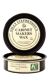 Cabinet makers wax - internal furniture oil Sawdust Bureau