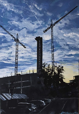 Dave Akehurst - Cities & Cranes 2