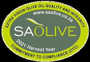 SA Olive Gold Winner
