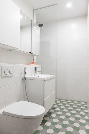 Kylpyhuone, yksityiskoti Tampere