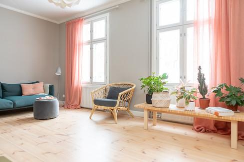 Olohuone, yksityiskohde, Tampere