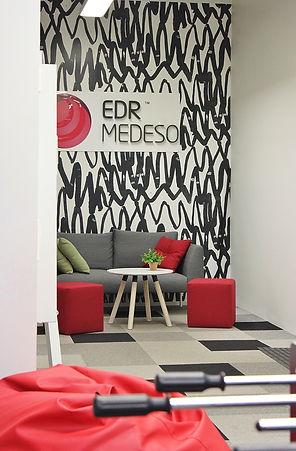 Sisäänkäynti, EDR & Medeso OY
