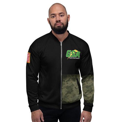 Unisex Camo Bomber Jacket