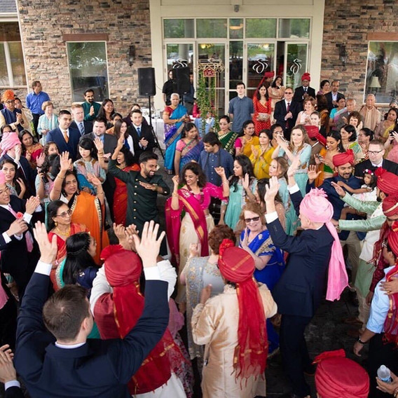 Baraat Party!