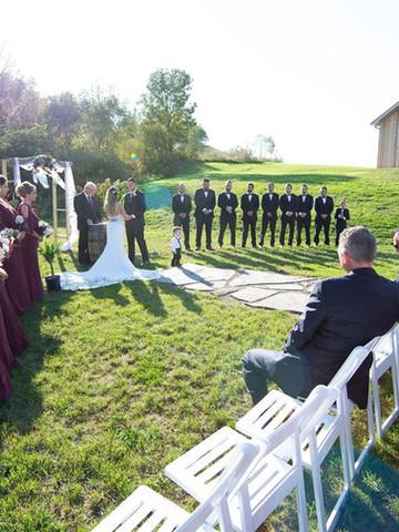Beautiful Outdoor Ceremony