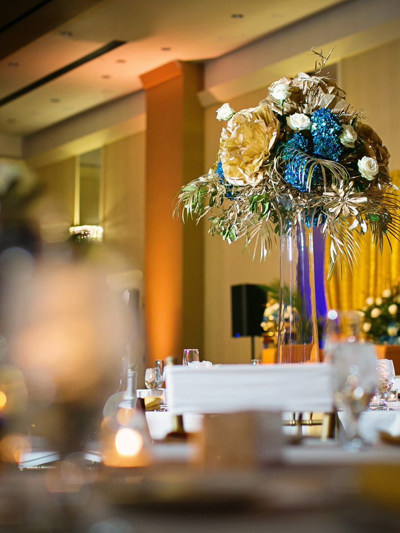 Beautiful Decor During The Reception