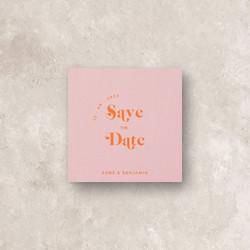 Pinot Blush II Save The Date