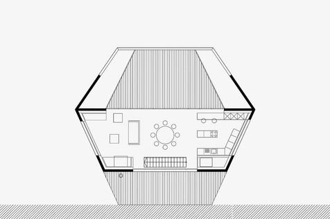 tloris 2. etaže