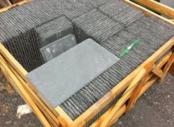Grey roofing slate