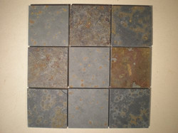 Mosaics from Multicolor slate