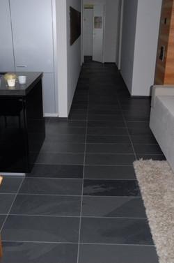 Flooring_Black slate tiles