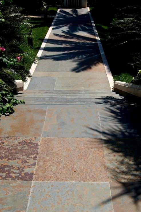 Slate paving_multicolor