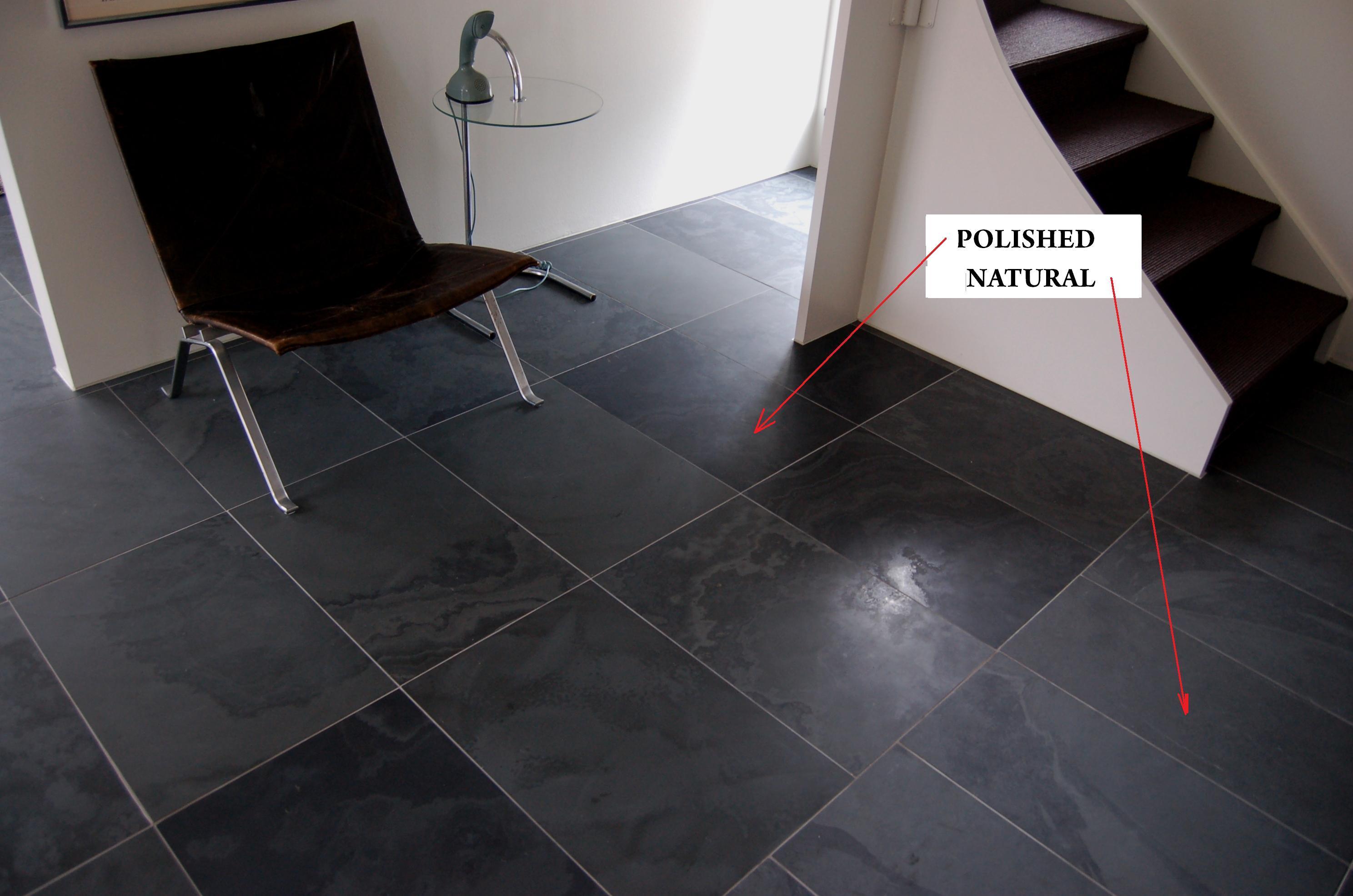 Black Graphite_Natural & polished