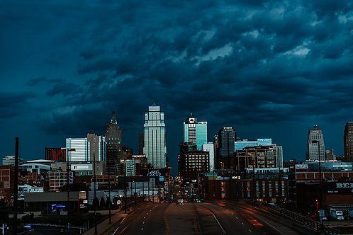 Stormy Moring Over KC