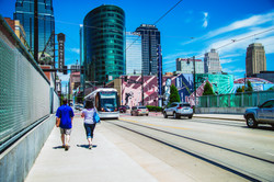 Downtown with the Streetcar