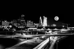 KC Skyline Night 8x10