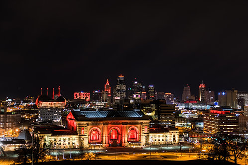 Pano 8503 KC Skyline Chiefs Gold Red