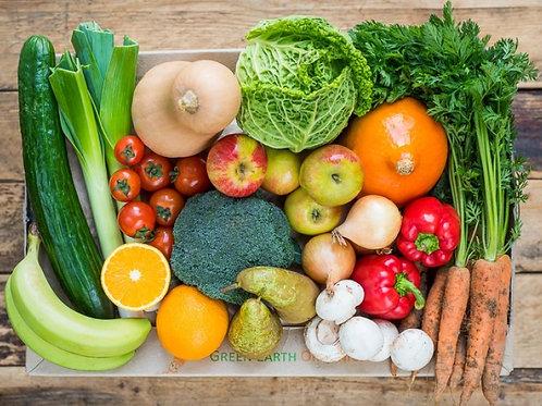 Free collection on 25th January - Large Box of Organic Fruit/Veg/Salad