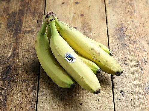 Fairtrade & Organic Bananas (5 pieces)