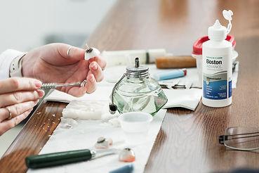 making an acrylic ocular prosthesis